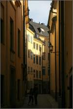 stockholm/1851/ein-gasse-in-der-stockholmer-altstadt Ein Gasse in der Stockholmer Altstadt 'Gamla stan'. 16.08.2007 (Matthias)